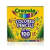 Crayola 68-8100-E-000 Coloured Pencil (Pack of 100)