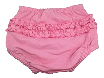 Green Sprouts Fancy Pants Pink Ruffle Diaper Cover - Small