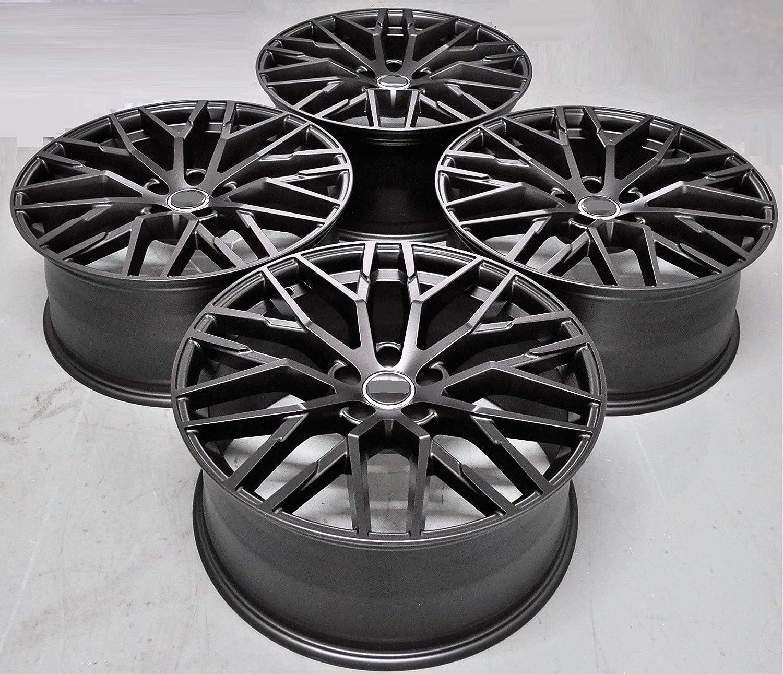 Amazon Com 20 Inch Black Wheels Rims Full Set Of 4 Fit