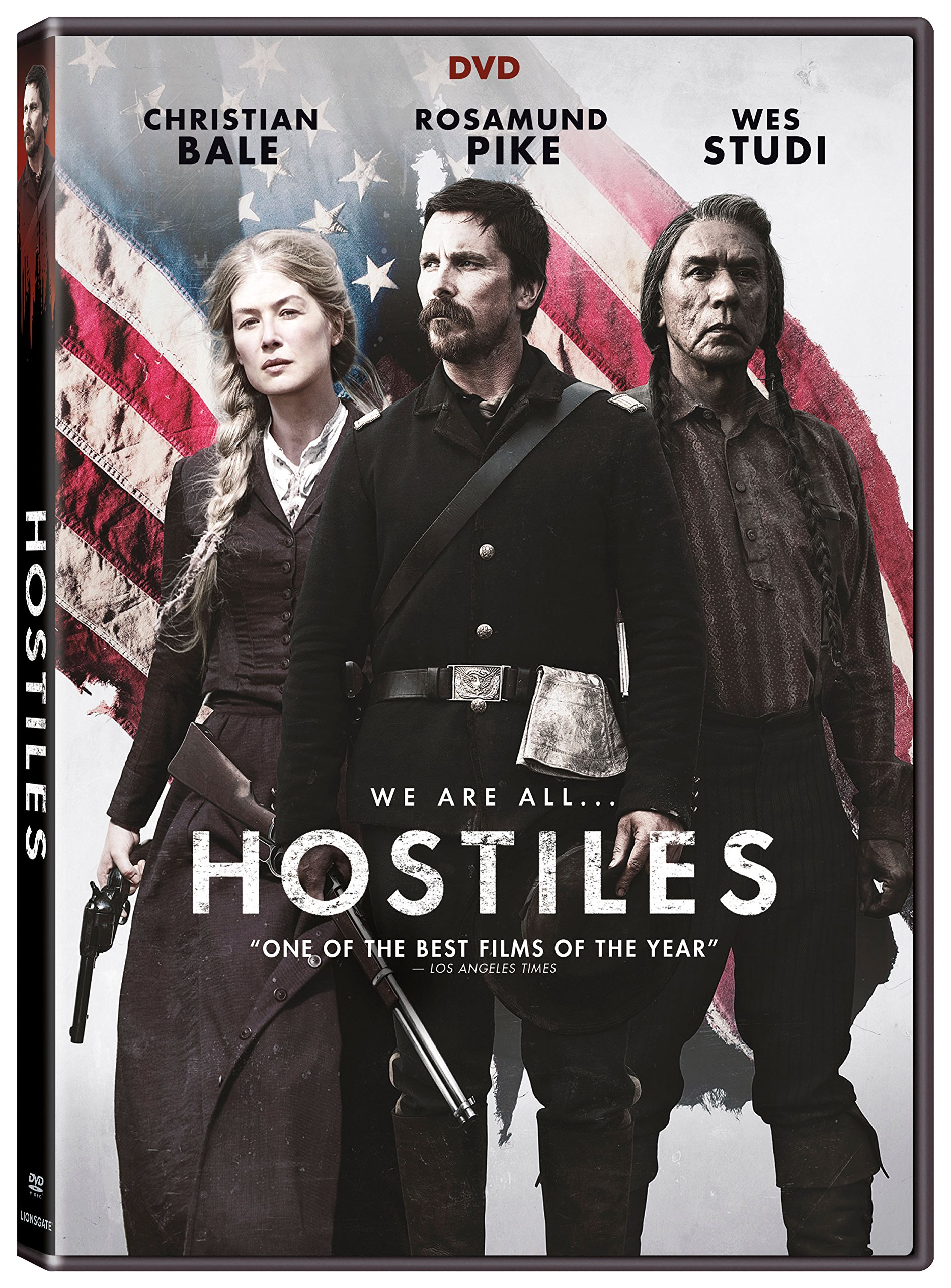 DVD : Hostiles (Widescreen, Subtitled, Dolby, AC-3)