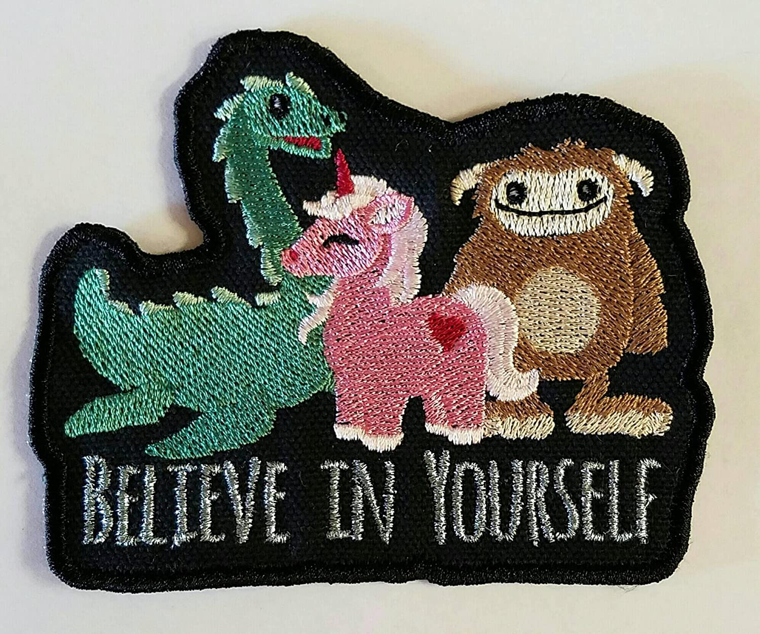 Believe Cryptic Creature Sew on Patch