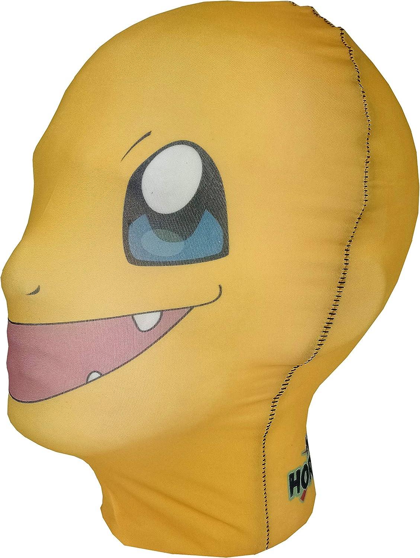 Mask Horrors Charmander Máscara de Cabeza Completa, Disfraz de ...