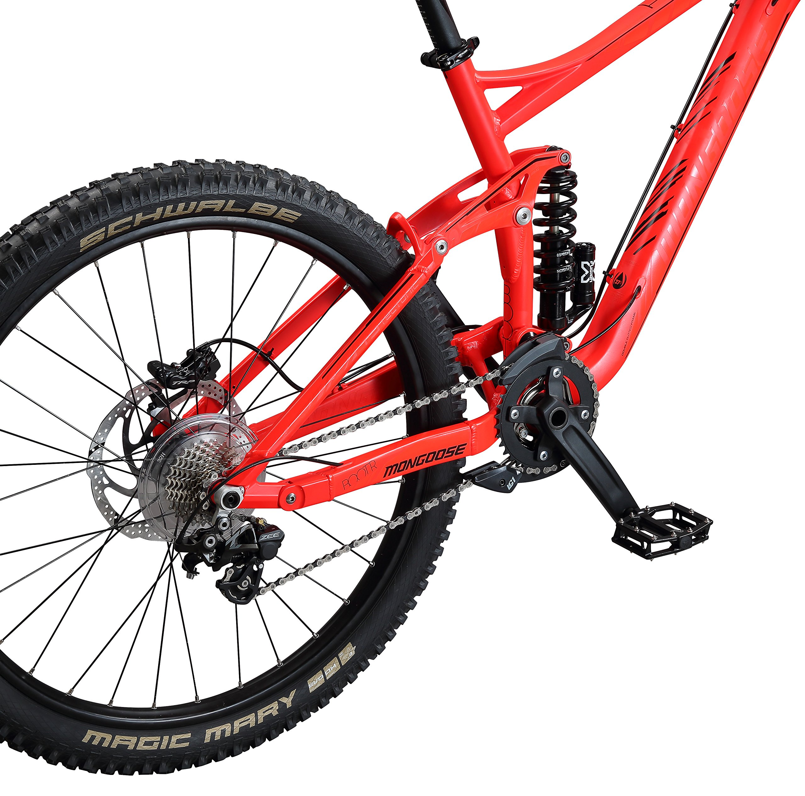 "Mongoose Boot'r 27.5"" Down Hill Bicycle"