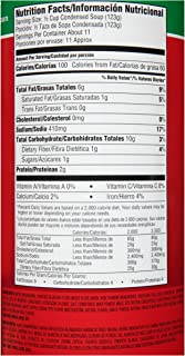 product image for Heinz Reduced Sodium Cream of Mushroom Soup (49.5 oz Cans, Pack of 12)