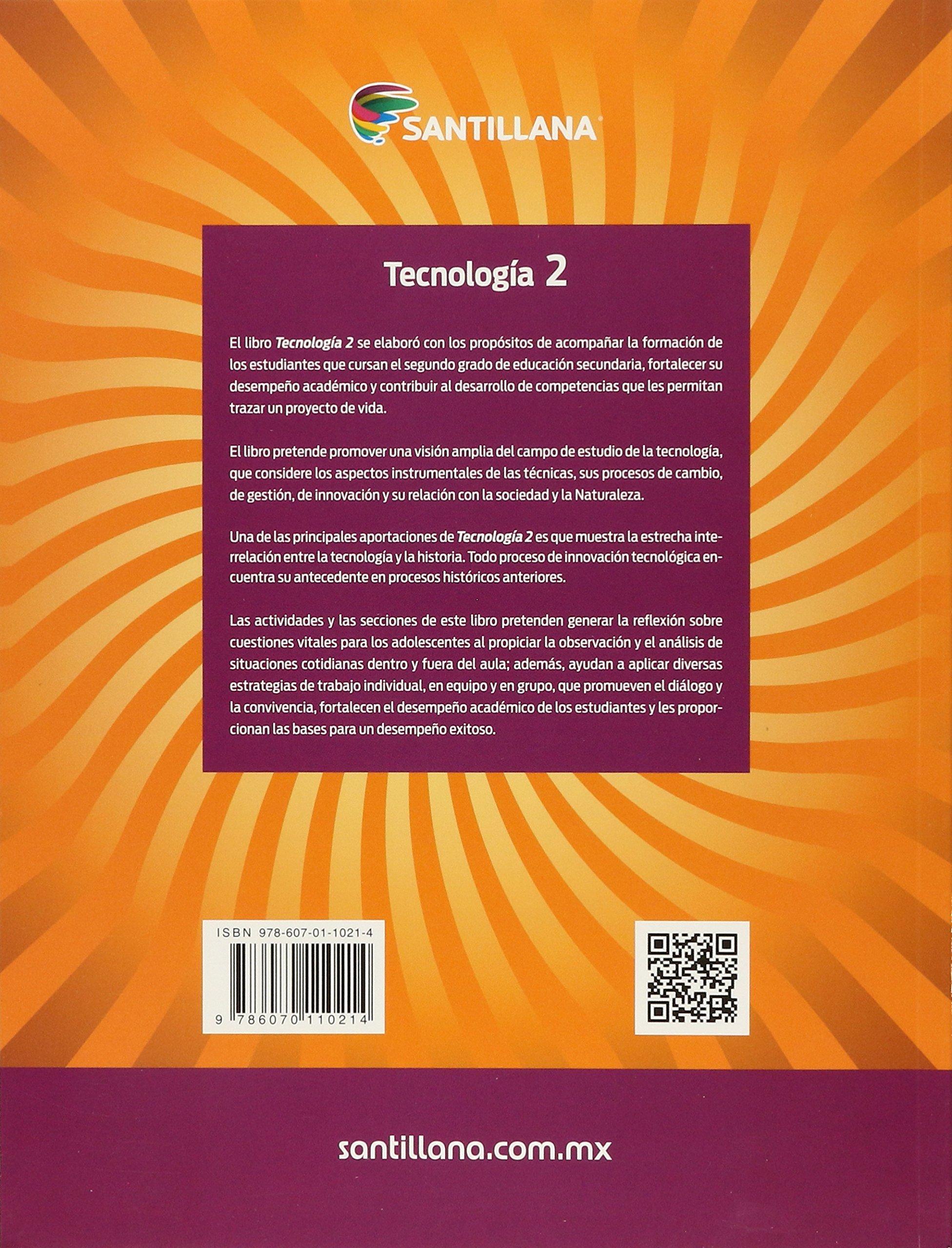 Tecnolog a 2 santillana secundaria edici n 12 eloy pineda rojas amazon com mx libros