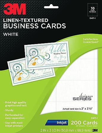 3m linen textured business cards white inkjet 2 x 3 12 inches 3m linen textured business cards white inkjet 2 x 3 1 colourmoves