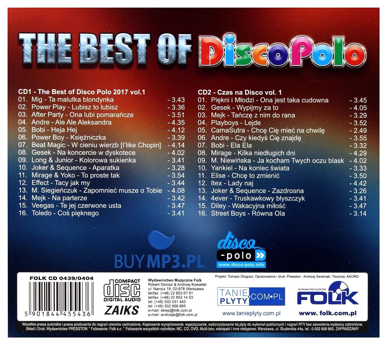 Amazon.com: The Best Of Disco Polo 2017 vol. 1 [2CD]: Music