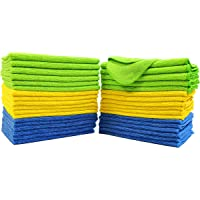 Polyte Microfiber Cleaning Cloth, 12 x 16 in, 36 Pack