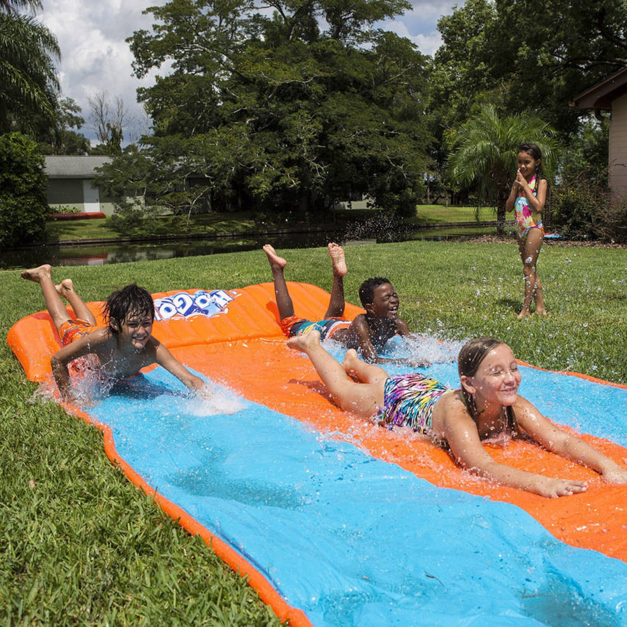 H2O Go Water Slide, Triple Lane by generic