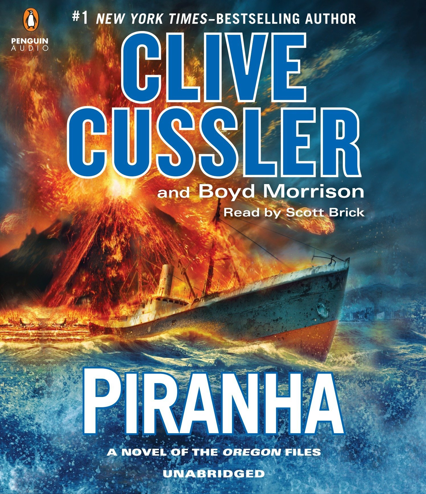 Buy Piranha (The Oregon Files) Book Online at Low Prices in India   Piranha  (The Oregon Files) Reviews & Ratings - Amazon.in