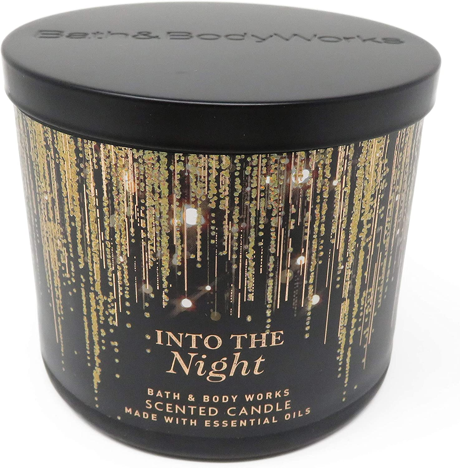Bath and Body Works Into The Night 14.5oz 3 Wick Candle