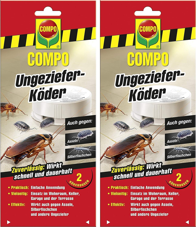 Compo - Cebo para insectos (4 latas): Amazon.es: Jardín
