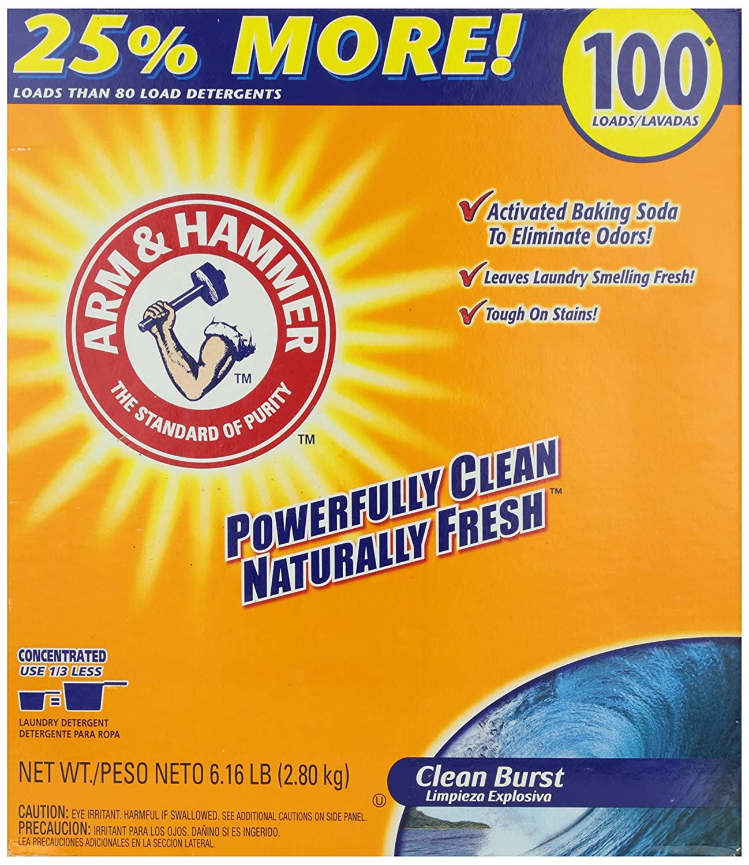 Amazon.com: Arm & Hammer Laundry Detergent, Clean Burst ...