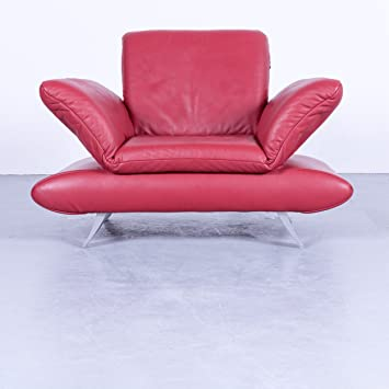 Amazonde Koinor Rossini Designer Sessel Rot Leder Funktion 4531