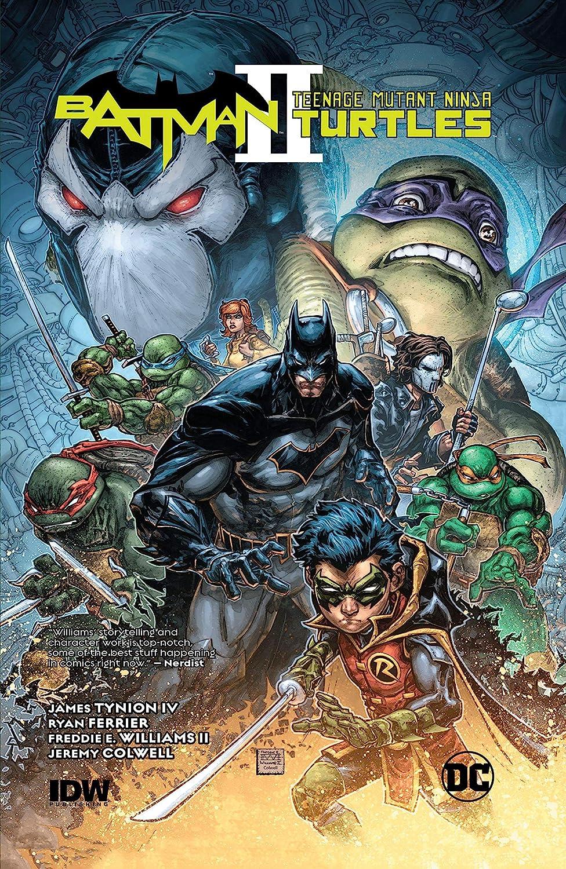 Batman/Teenage Mutant Ninja Turtles II (2017-2018) See more