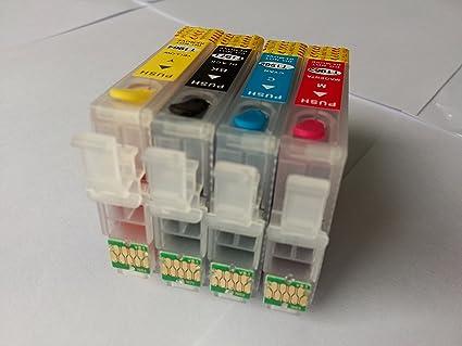 4pcs T252 Full cartucho de tinta recargable para Epson WorkForce ...