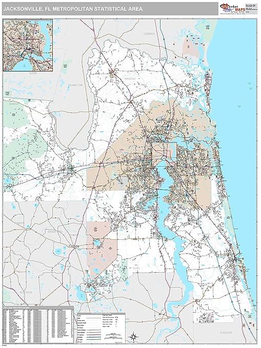 Amazon.com: MarketMAPS Jacksonville, FL Metro Area Wall Map ... on crescent beach, ponte vedra beach, jacksonville florida, florida keys map, neptune beach, jacksonville usa map, jacksonville beach, jacksonville road map, jacksonville bad neighborhoods, orange park, atlanta ga map, jacksonville maryland map, jacksonville georgia map, downtown jacksonville map, columbus oh map, jacksonville veterans memorial arena, old ortega historic district, jacksonville atlanta map, augusta ga map, atlantic beach, jacksonville kentucky map, jacksonville university, jacksonville to tampa map, jacksonville beaches, ritz theatre, st. johns county, baseball grounds of jacksonville, jacksonville colorado map, jacksonville united states map, jacksonville bridge, jacksonville vt map, jacksonville areas, avondale historic district, tallahassee map, duval county,