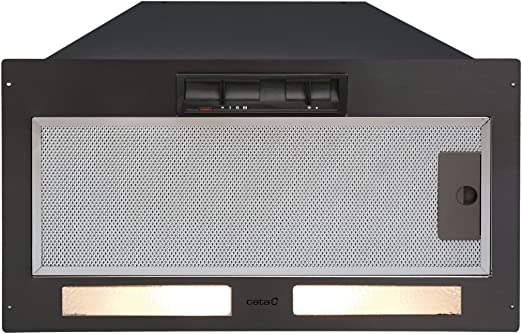 CATA GT Plus 45 Encastrada Negro 560m³/h - Campana (560 m³/h, Canalizado, 55 dB, 63 dB, 68 dB, Encastrada): Amazon.es: Hogar