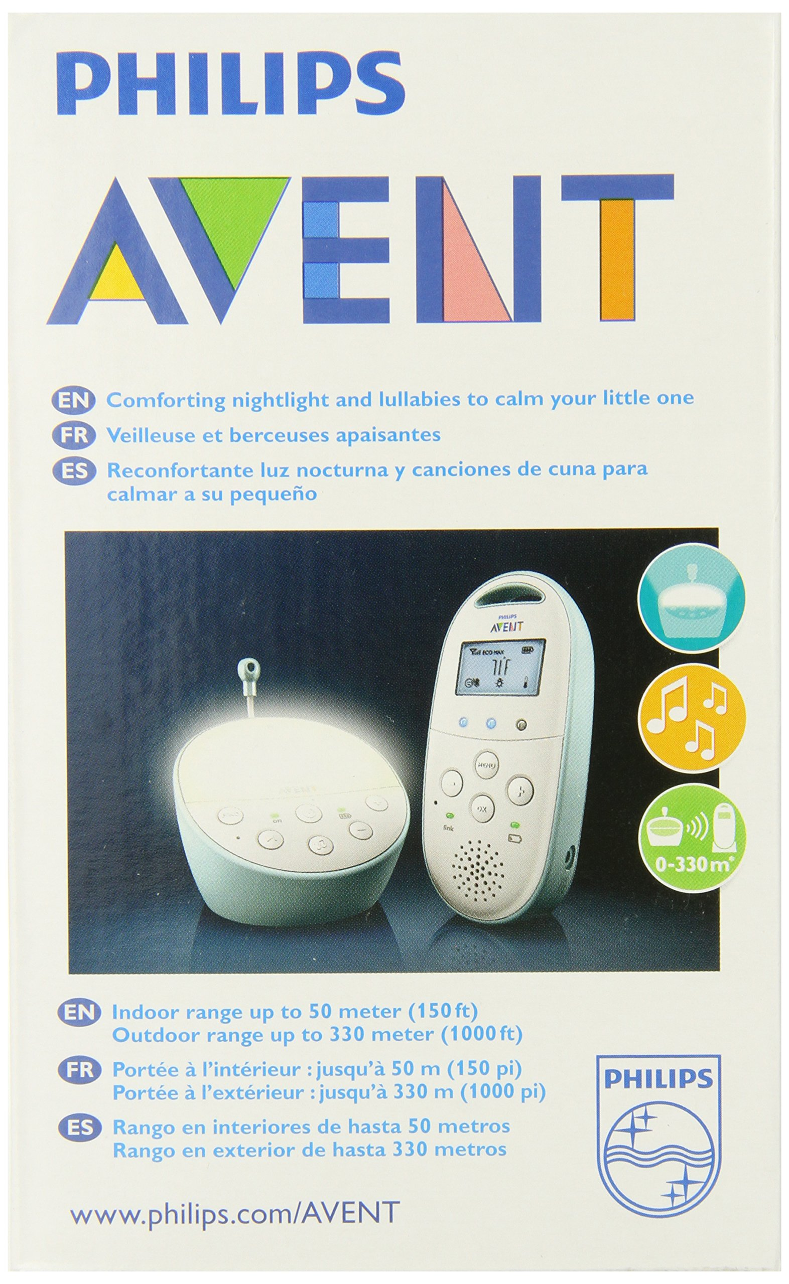 Philips Avent DECT Baby Monitor with Temperature Sensor by Philips AVENT (Image #9)