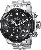 Invicta Men's 'Venom' Quartz Stainless Steel Casual Watch, Color:Silver-Toned (Model: 23888)