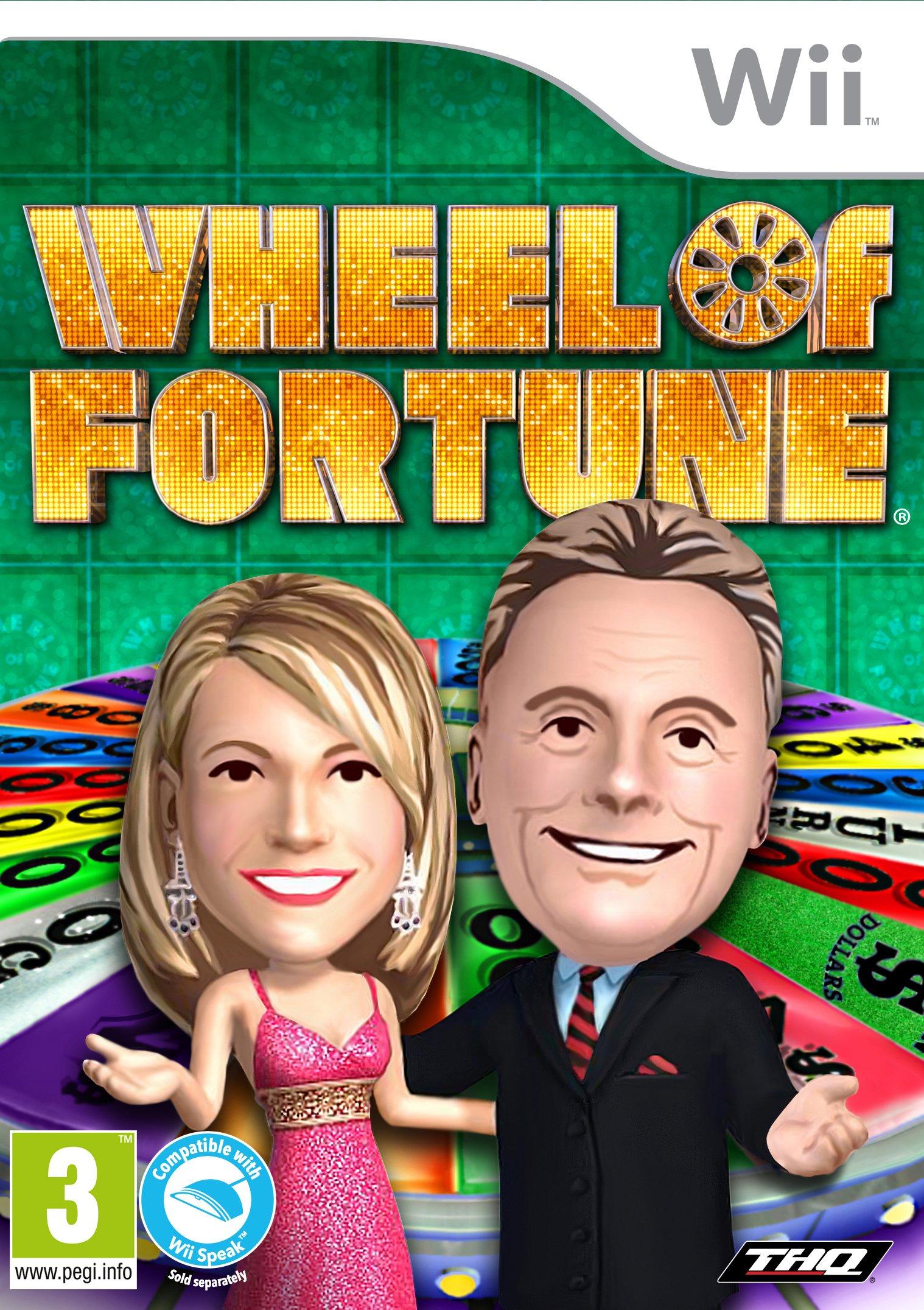 Wheel of Fortune Wii Pre-Owned(Renewed)