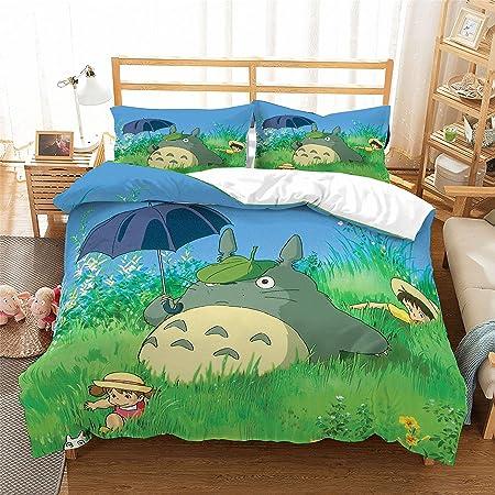 Copripiumino Totoro.Realin Copripiumino My Neighbor Totoro Totoro Set Biancheria Letto