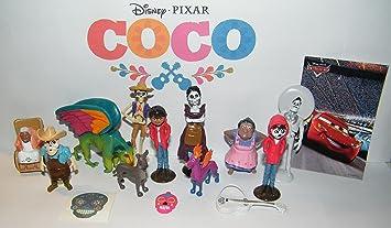 B.B. Inc Disney Coco Movie Deluxe Juego de 15 Figuras de Juguete ...