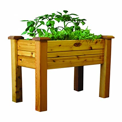 Gronomics EGB 18 34S Elevated Garden Bed, 18 Inch By 34 Inch