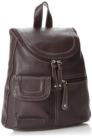 082eec6adb9 Amazon.com  Tignanello Multi-Pocket Backpack,Brown,one size  Clothing