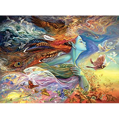 Buffalo Games Josephine Wall - Spirit of Flight - Glitter Edition - 1000 Piece Jigsaw Puzzle