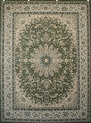 Feraghan New City Traditional Area Rug, 13 x 16 , Sage Green