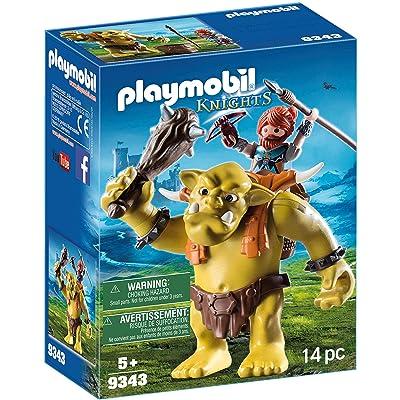 Playmobil- Trol Gigante con Mochila Enano Juguete, (geobra Brandstätter 9343): Juguetes y juegos