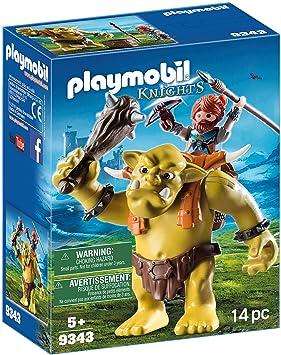Playmobil Con Juguetegeobra Mochila Brandstätter Trol Gigante 9343 Enano hQtsrCd