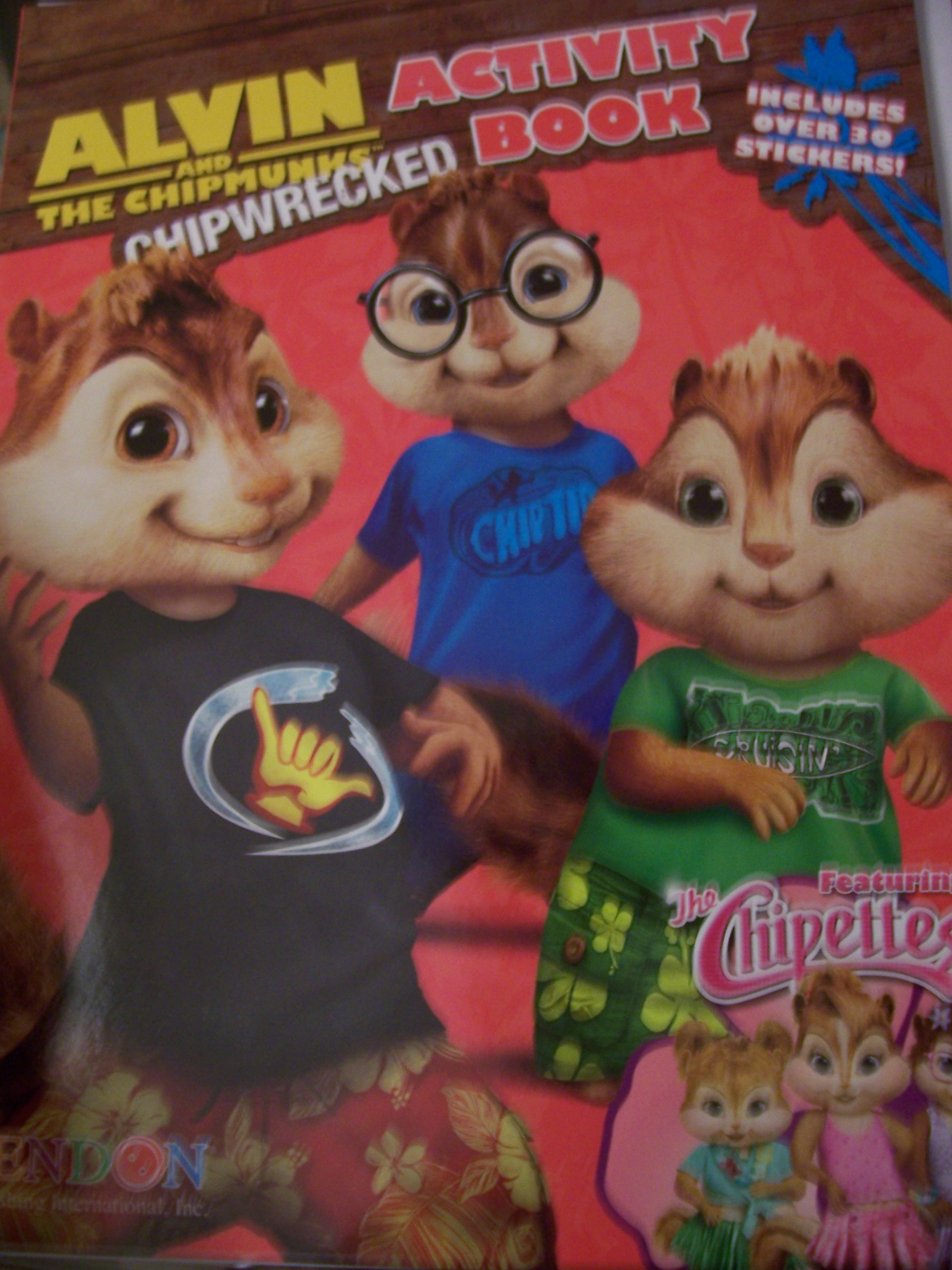 Chipettes Chipwrecked Coloring by Yanamaisarah4 on DeviantArt | 2560x1920