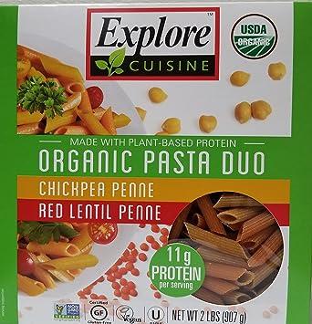 Amazoncom Explore Cuisine Organic Gluten Free Pasta Duo