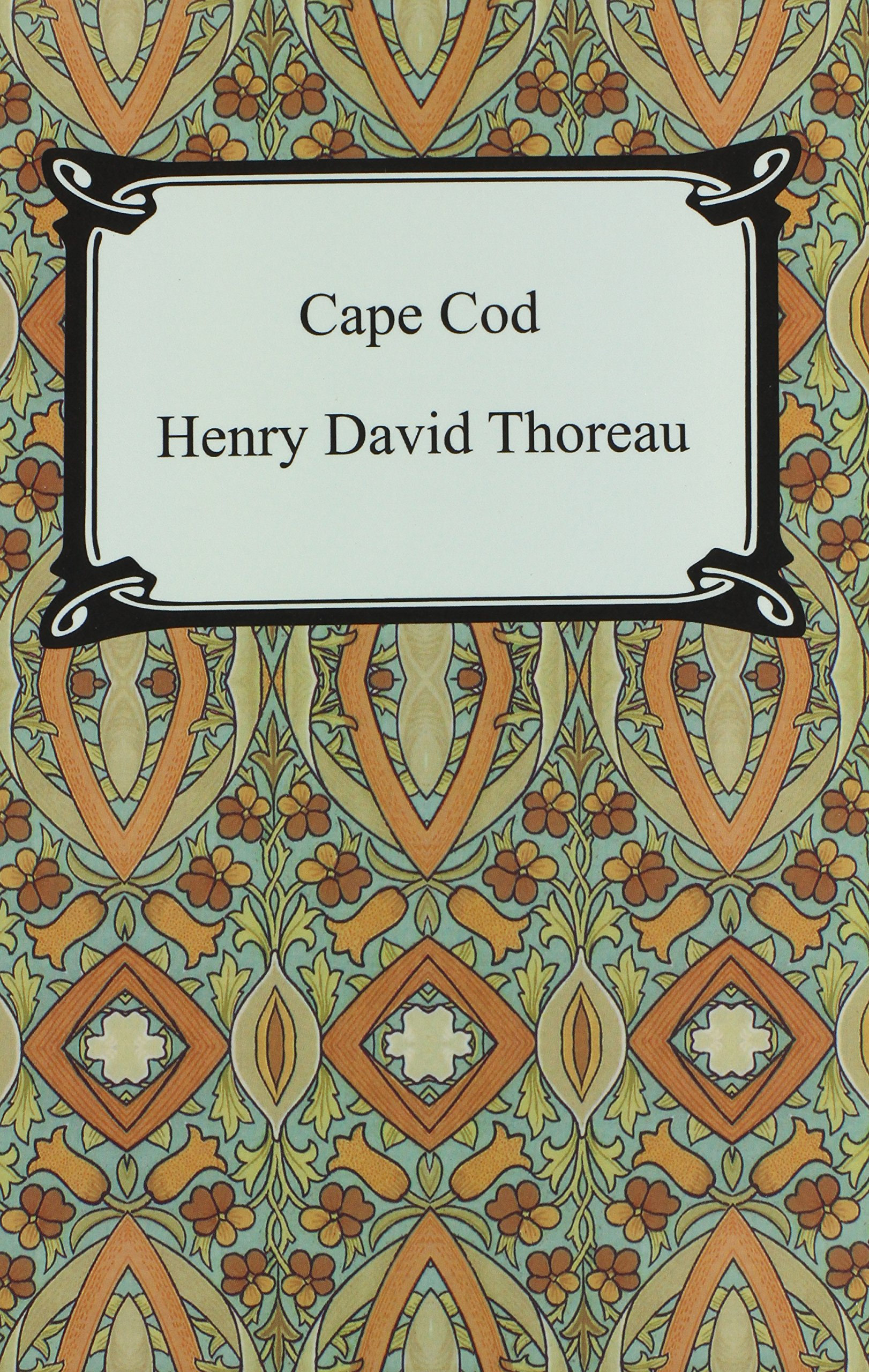 cape cod henry david thoreau 9781420927122 com books