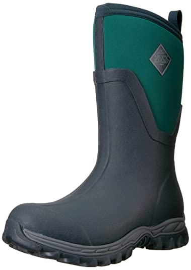 Muck Boots Arctic Sport II Mid, Bottes et Bottines de Pluie Femme, Bleu (Acai), 39/40 EU