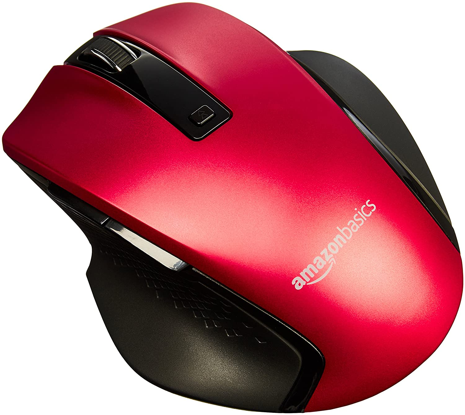 Basics GP7-BL Compact Ergonomic Wireless Mouse with Fast Scrolling - Blue