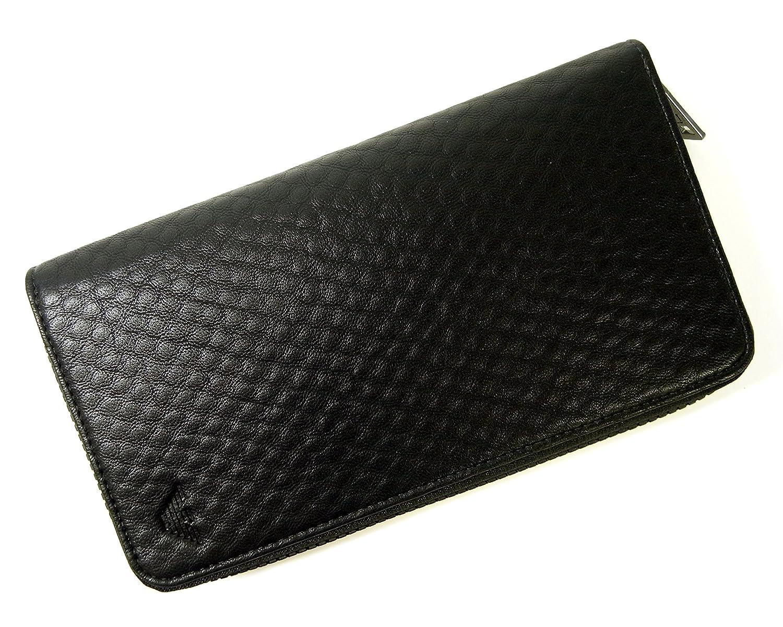 (アルマーニ) ジーンズ 長財布 メンズ ラウンドファスナー (ブラック) A-2363 [並行輸入品] B06XFTQMYL