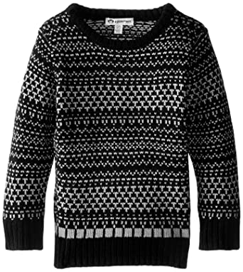 Amazon.com: Appaman Little Boys' Fair Isle Sweater, Black, 6: Clothing