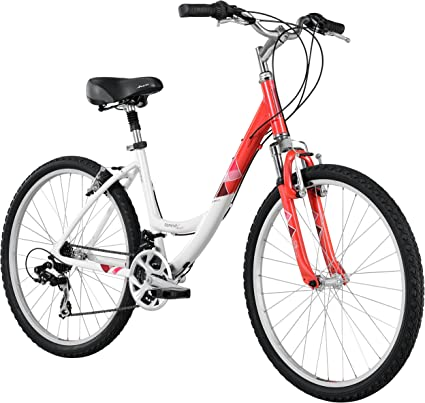 Amazon Com Diamondback Bicycles 2014 Serene Classic Women S Sport Comfort Bike 26 Inch Wheels 15 Inch Silver Blue Sports Outdoors