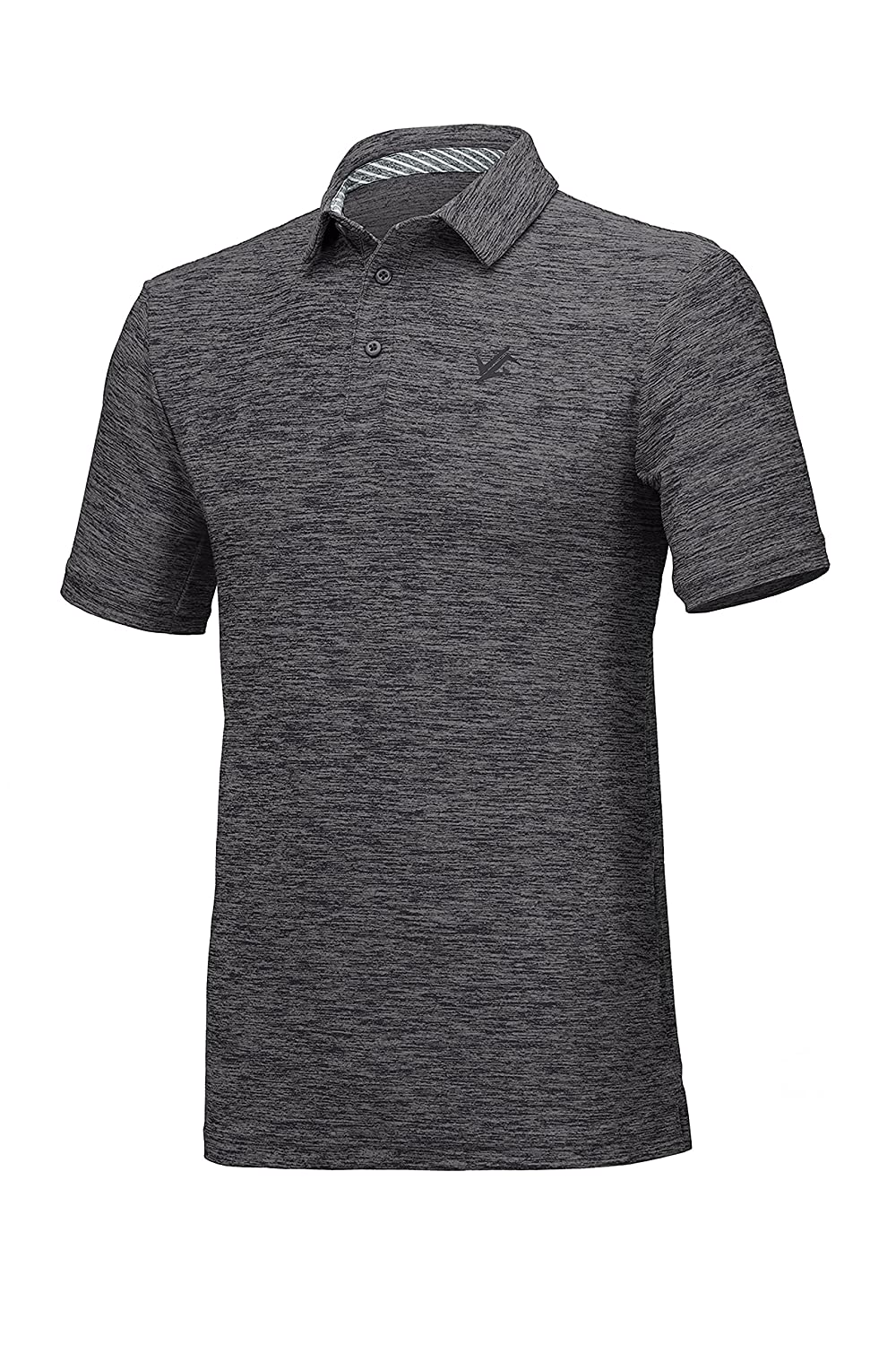 5e6c2c7c 4-WAY STRETCH FABRICATION - These golf polos have an athletic, loose  performance fit, which allows for great mobility in any direction.