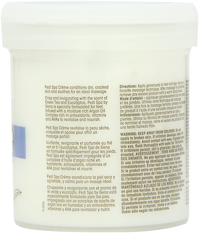 Amazon.com : Gena Pedi Spa with Argan Oil Complex Pedi Spa Creme, 14 Ounce : Foot Creams : Beauty