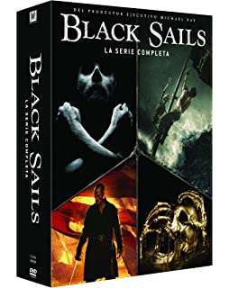 Black Sails Temporada 1-4 (Serie Completa) [DVD]