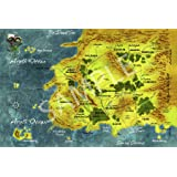 Amazon.com: Best Print Store - Wheel Of Time Map Poster (18x24 ...
