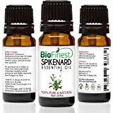 Biofinest Spikenard Essential Oil - 100% Pure Organic Therapeutic Grade - Best For Aromatherapy & Calming - For Insomnia and Stress Relief - FREE E-Book (10ml)