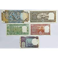 Rare Collection, Republic India 5 Oldest UNC Note Set