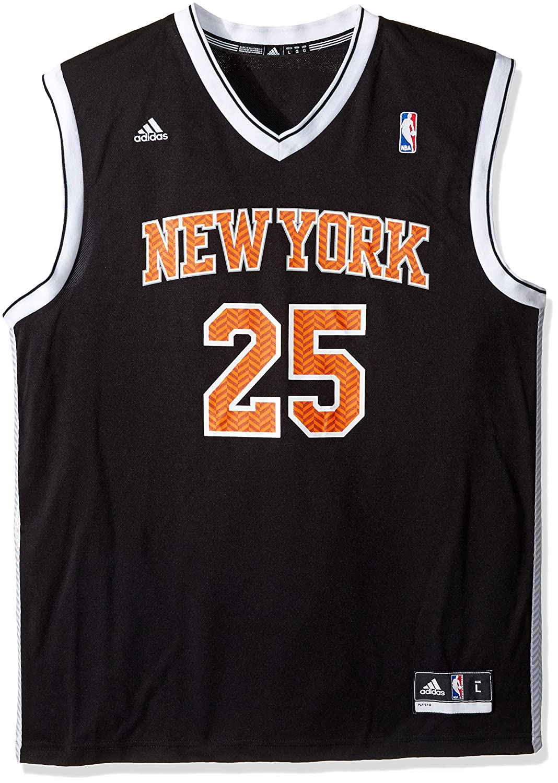 new style 9e62f da891 Buy NBA New York Knicks Derrick Rose #25 Chevron Fashion ...