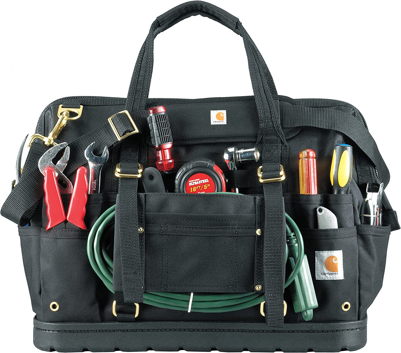 Carhartt Legacy Tool Bag 16-Inch w// Molded Base Carhartt Brown