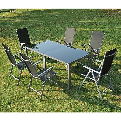 Outsunny-Conjunto de muebles de jardín aluminio Juego de ...